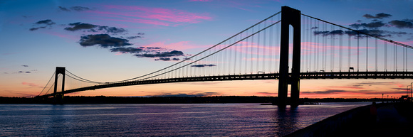 Verrazano Bridge Pano